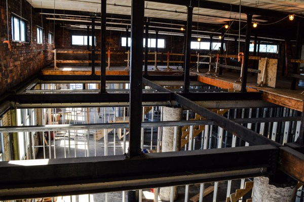 The seventh and eighth floors will feature two-floor housing units.