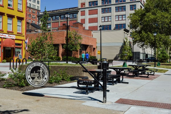 The renovated Market Plaza, situated across Market Street, already has proven to be a nice amenity for downtown workers.