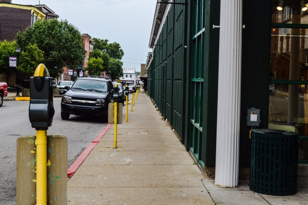 Officials of the Wheeling Arts and Cultural Commission are currently accepting design proposals for the parking meters that surround the market houses in Centre Market.
