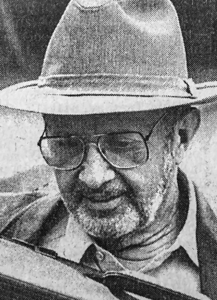 A file photo of Paul Hanisk used by local media outlets in 1990.