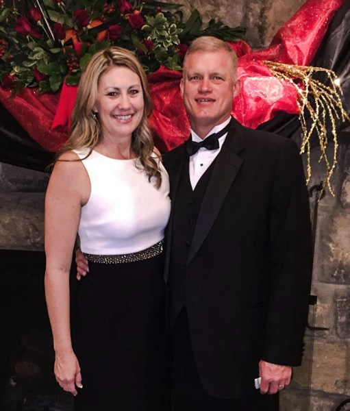 """Storch and her husband Tom attend several """"dress-up"""" functions per year."""