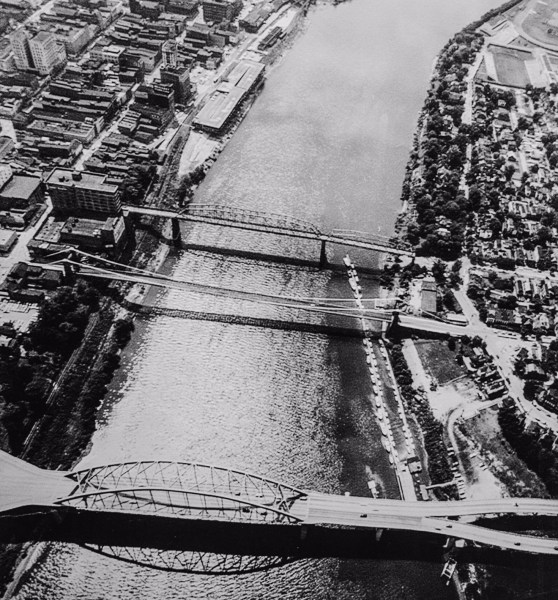 "During the late 1950s and early 60s it was ""Big Bill"" Lias who operated the illegal gambling activities when there were three bridges linking Wheeling Island to the downtown district."