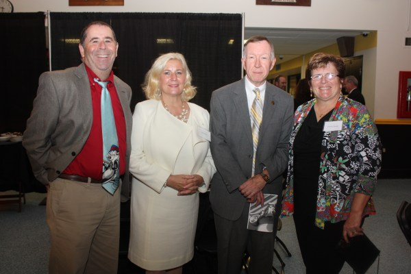 Dr. Robert Kreisberg, Dr. Jean Bailey, McCollough, and Debbie Joseph.