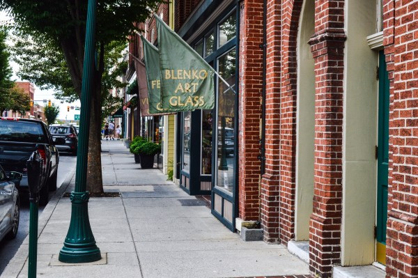 Downtown Martinsburg is clean and open for business.