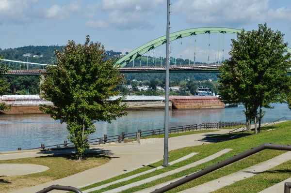 The downtown's Heritage Port was the site of more than 70 events this past summer.
