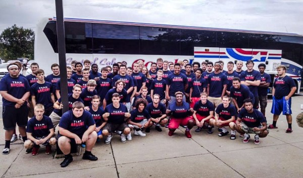 The 2015 Wheeling Park Patriots have rallied behind Nick and his father this season.