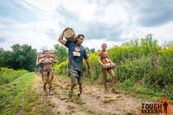 The 2015 Tough Mudder involved many challenges for Anderson.