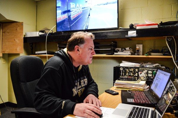 Donatelli may coach on the ice but his preparations involve a lot of research on opponents and prospects.