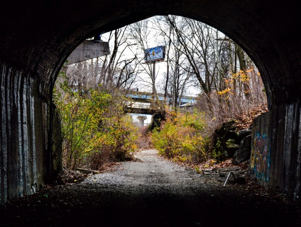 The Chapline Hill Tunnel linked downtown to South Wheeling and beyond.