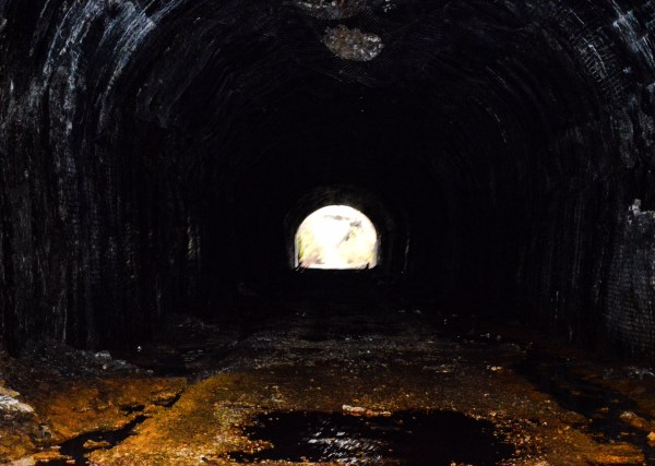No haunted tales exists concerning the Chapline Hill Tunnel.