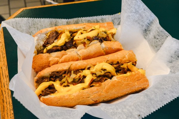 The Philly Cheese Steak is a very item on the menu.