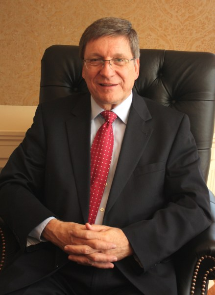 President Stephen Greiner in office