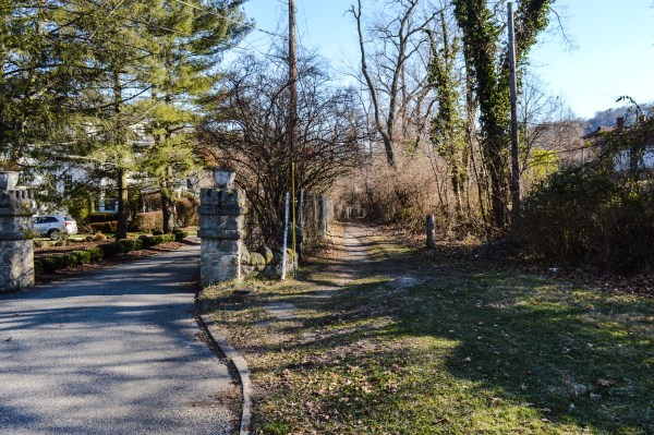 """The """"Pig Path"""" is a popular shortcut for residents of Ward 4."""