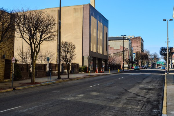 """L.S. Good, which was once located in this open space just north of the 12th and Market intersection, was one of the identified """"anchors"""" for the downtown mall concept."""