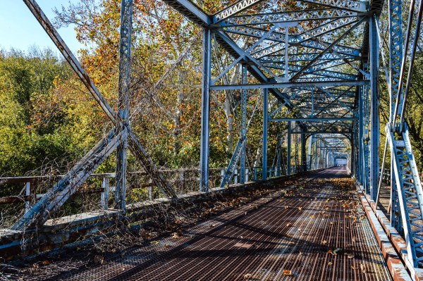 The Aetnaville Bridge has been closed to pedestrian traffic for the past month and no plan exists at this time to re-open the span to the public.