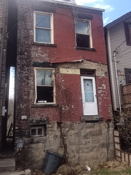 Vacant structures is an issue in Ward 3 that Hamm hopes to confront as a council member.