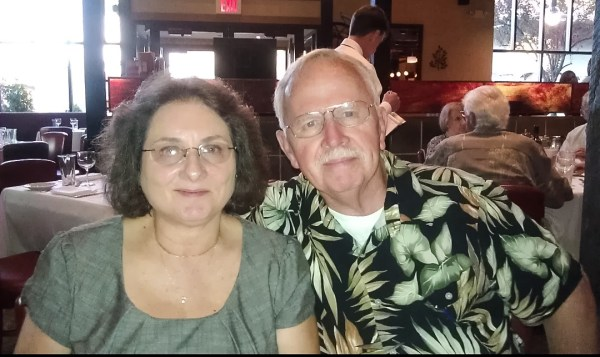 Adams and his bride will celebrate their 40th wedding anniversary this Saturday.