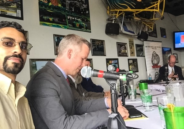 Coogan was one of four mayoral candidates to participate in the debate on the Watchdog Network, AM 1600 WKKX & AM 1370 WVLY.