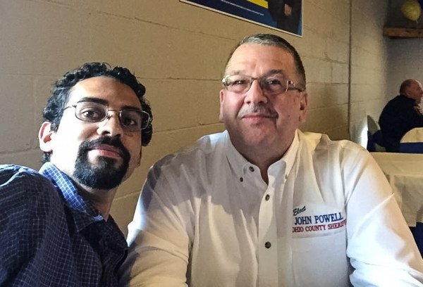 Coogan openly supported Republican John Powell in his primary run for Ohio County Sheriff.