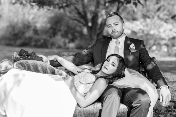 Thorngate and Jessica married in August 2015.