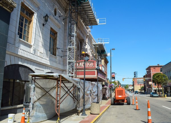 Wheeling Heritage has dedicated much attention to the restoration of the Capitol Theatre.