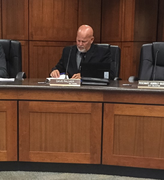 Dave Palmer, the new council member for Ward 6, was announced as the chair of the Public Safety Committee.