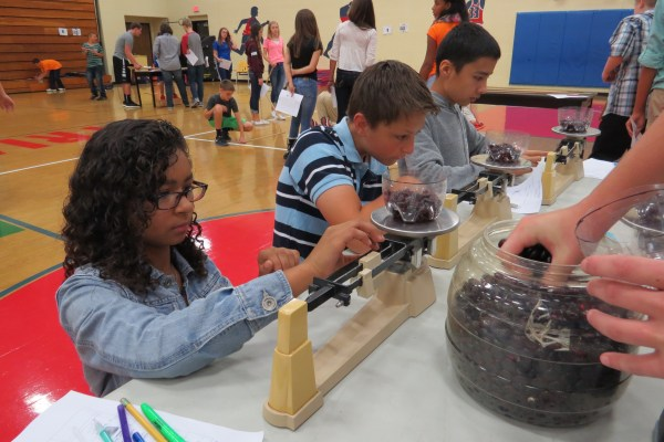 Students of Ohio County Schools participated in the Metric Olympics last year and will again this school year.