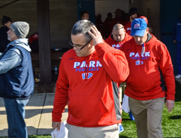 His first two teams were 1-9 and 2-8. but since the Park Patriots have qualified for the West Virginia playoffs the past five season.