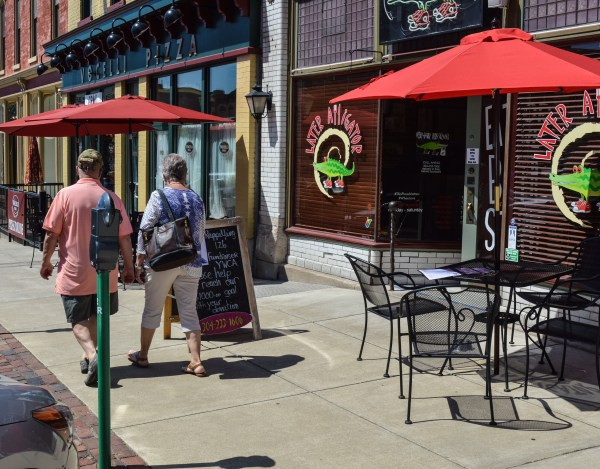 Vocelli's Pizza opened recently next door to the popular Later Alligator eatery along Market Street.