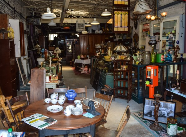 Susan's Antiques has available a number of different antiques for purchase.