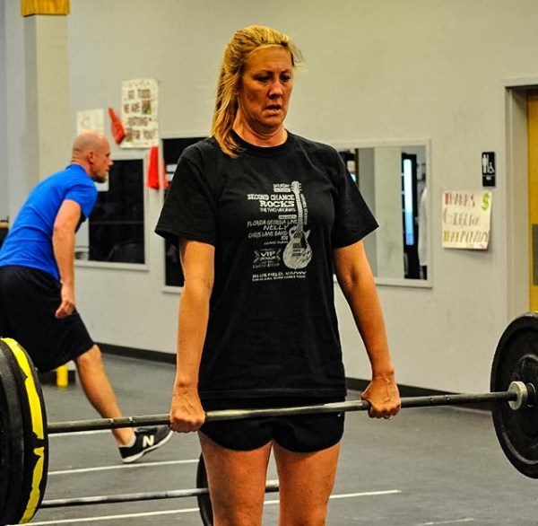 Storch participated earlier this year in the Ohio Valley Crossfit Challenge.