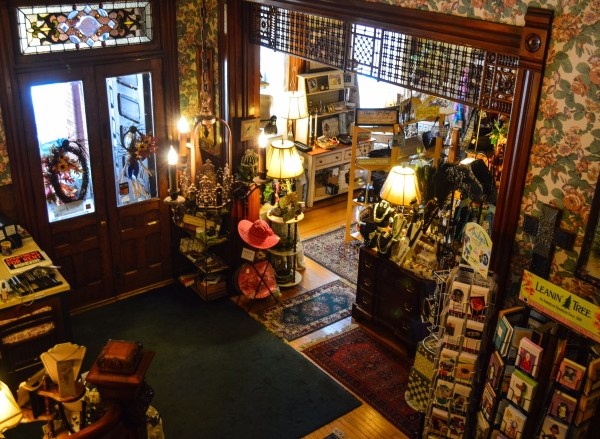 As soon as you enter the Eckhart House you are welcomed by a wide array of gifting options.