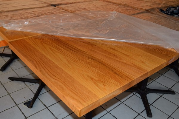 The funds raised via Welsch's Kickstarter campaign were used to acquire new tabletops and bar surfaces.