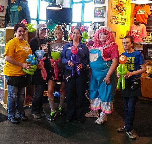 """""""Jingles"""" is a fixture at Quaker Steak & Lube at The Highlands two Mondays each month for the eatery's Family Appreciation Night."""