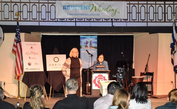 Lori Jones and Rita Gupta were the presenters for the YWCA.