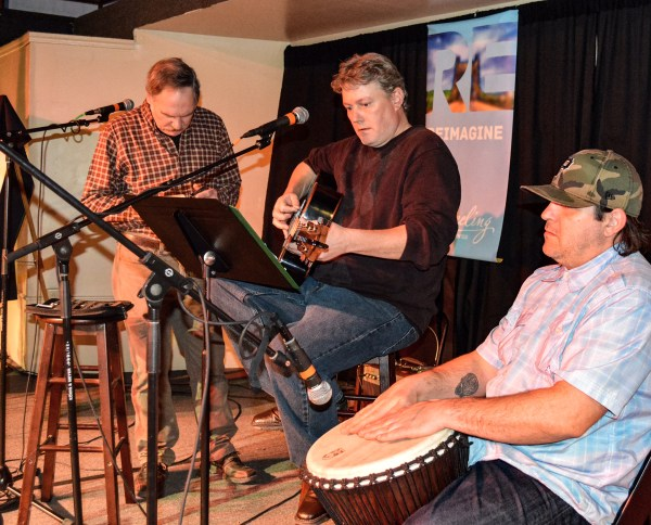 """The Shannon Canterbury Band provided the live entertainment the last time ReInvent Wheeling held """"Show of Hands."""""""