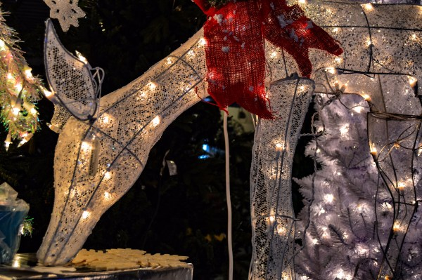 The Imperial Christmas Shoppe in Center Wheeling offers a wide array for Christmas decorations.
