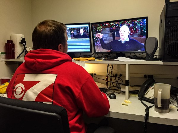 WTRF-TV's Jim Taggart filled the roles of cinematographer and editor for The Weelunk Show.