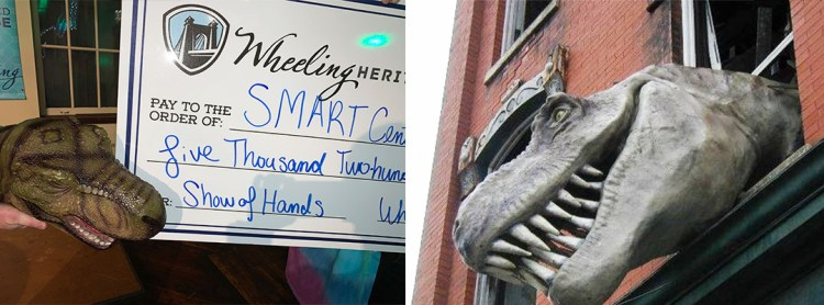 SMART Centre Market wins the Wheeling Heritage Show of Hands competition