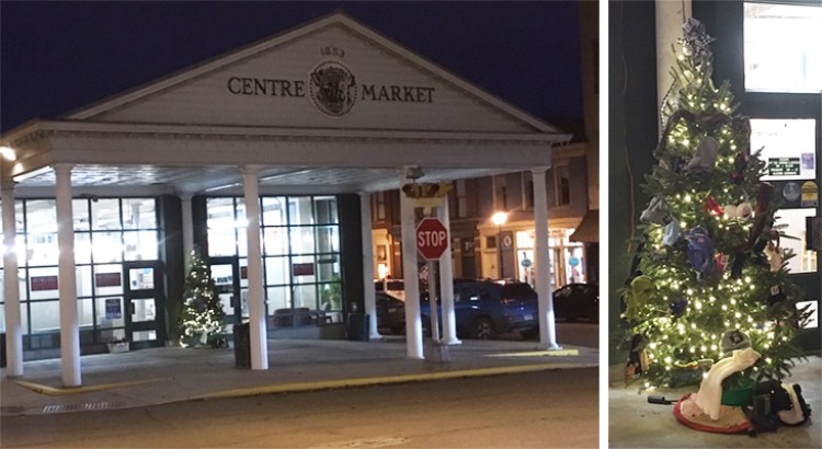 Centre Market front featuring the Giving Tree
