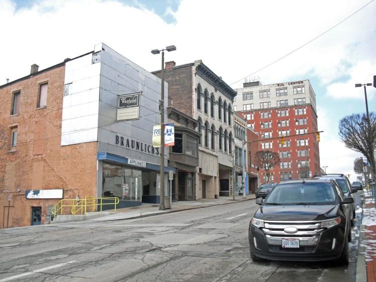 A downtown Wheeling view