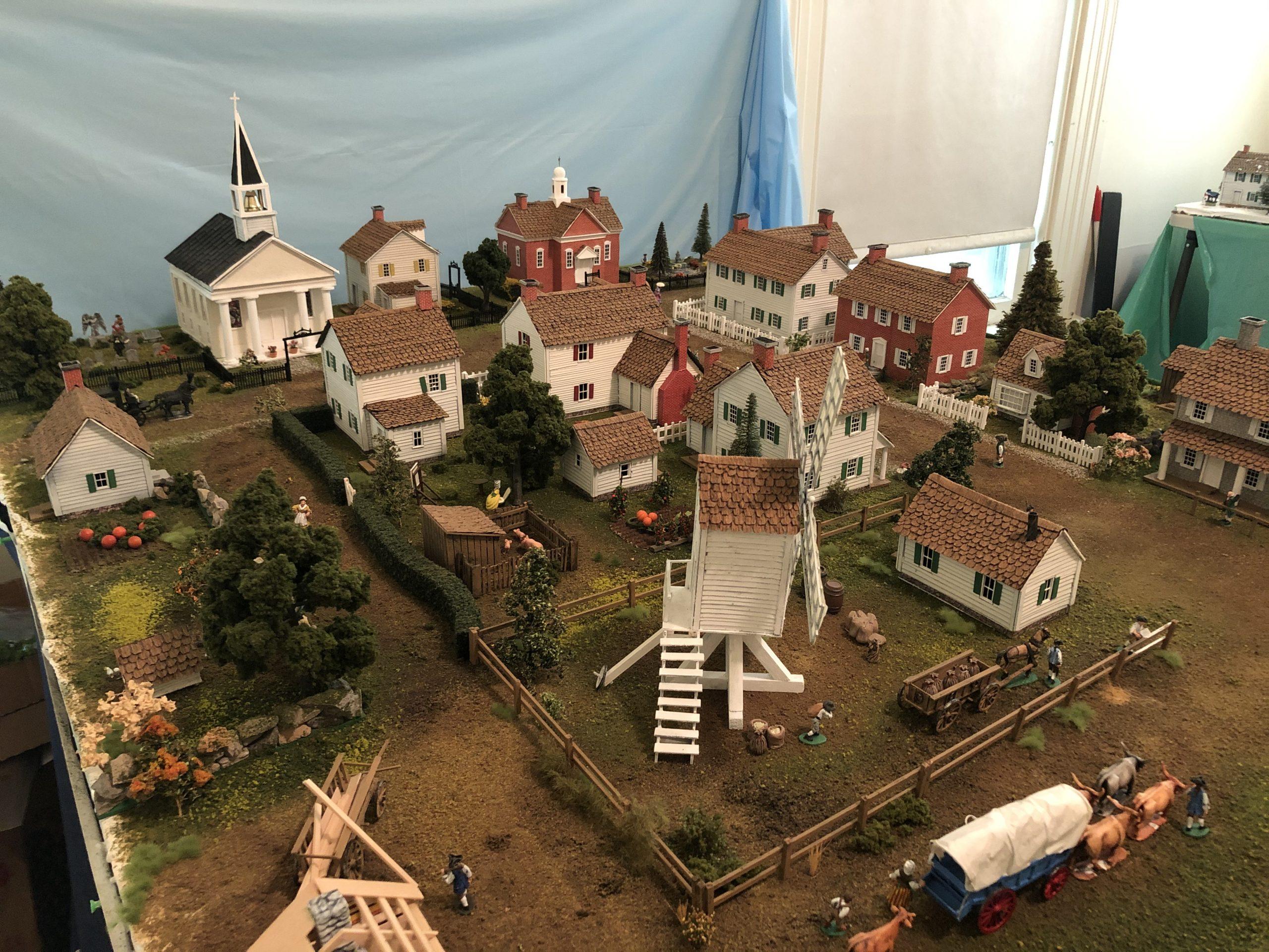 Colonial village
