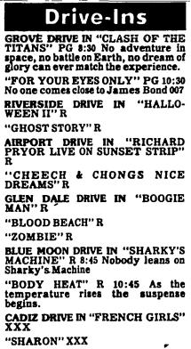 Drive In Newspaper