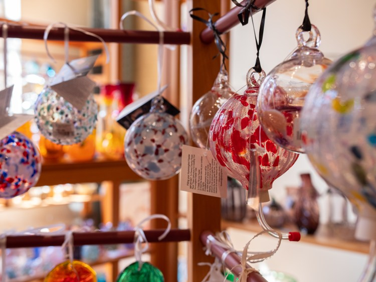 Artisan Center Glass Ornaments