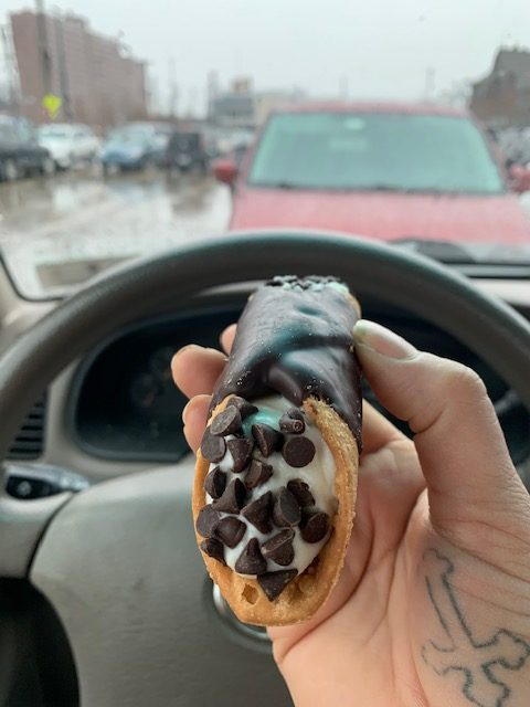 Cannoli from Westside Market in Cleveland