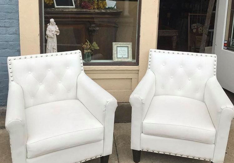 Chairs at Redecorate consignment