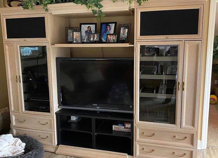 TV Stand at Redecorate consignment