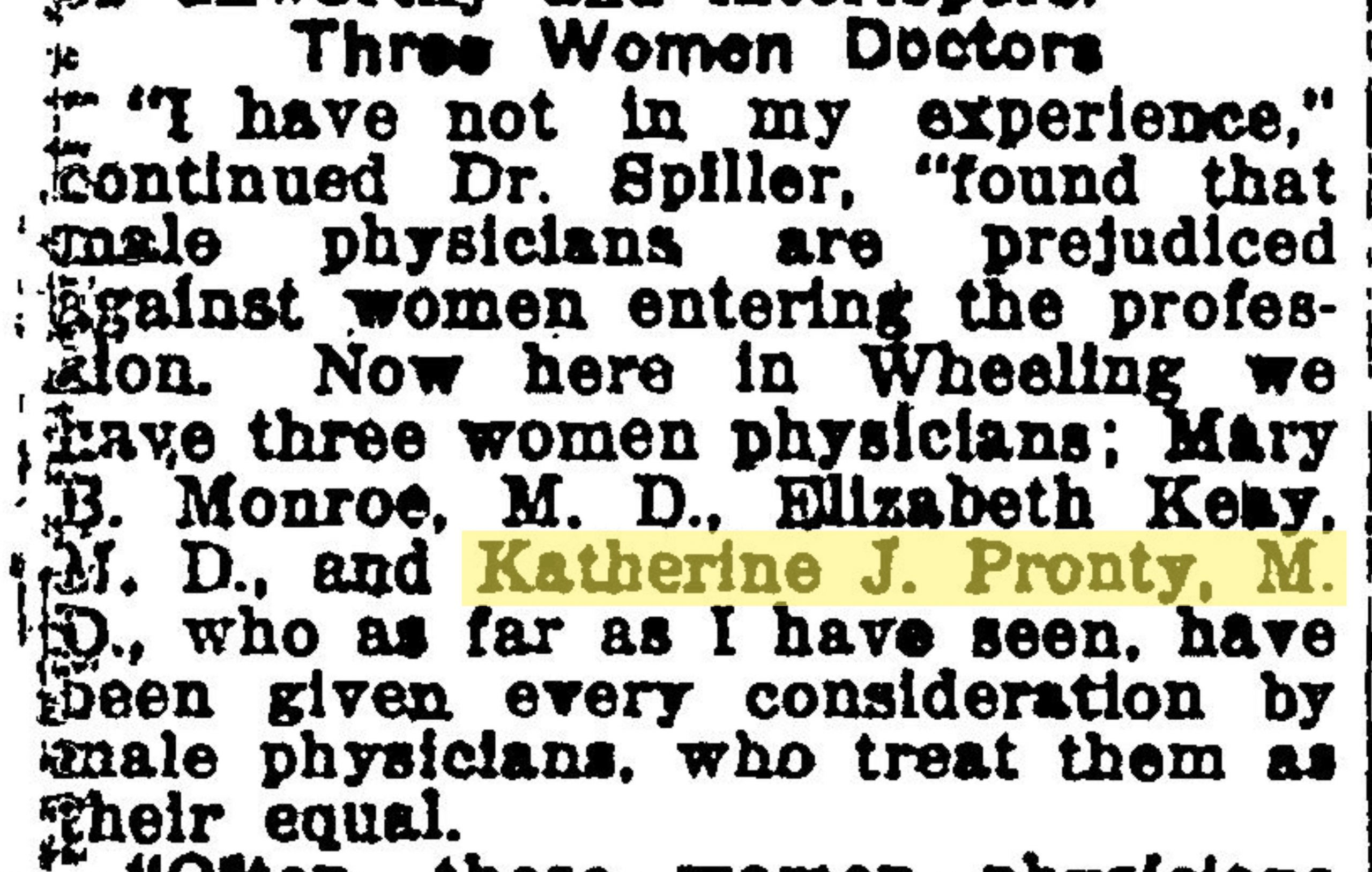 Article by Dr. H.F. Spillers