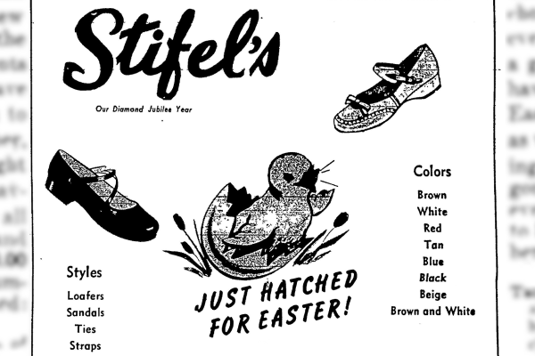 Wheeling Intelligencer Easter Ads
