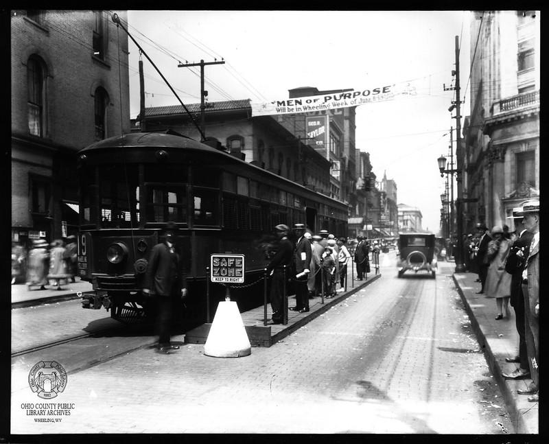 Streetcar on Market Street